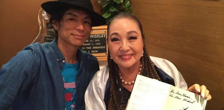 湯川れい子さんとマイケルダンスパフォーマーMasaki