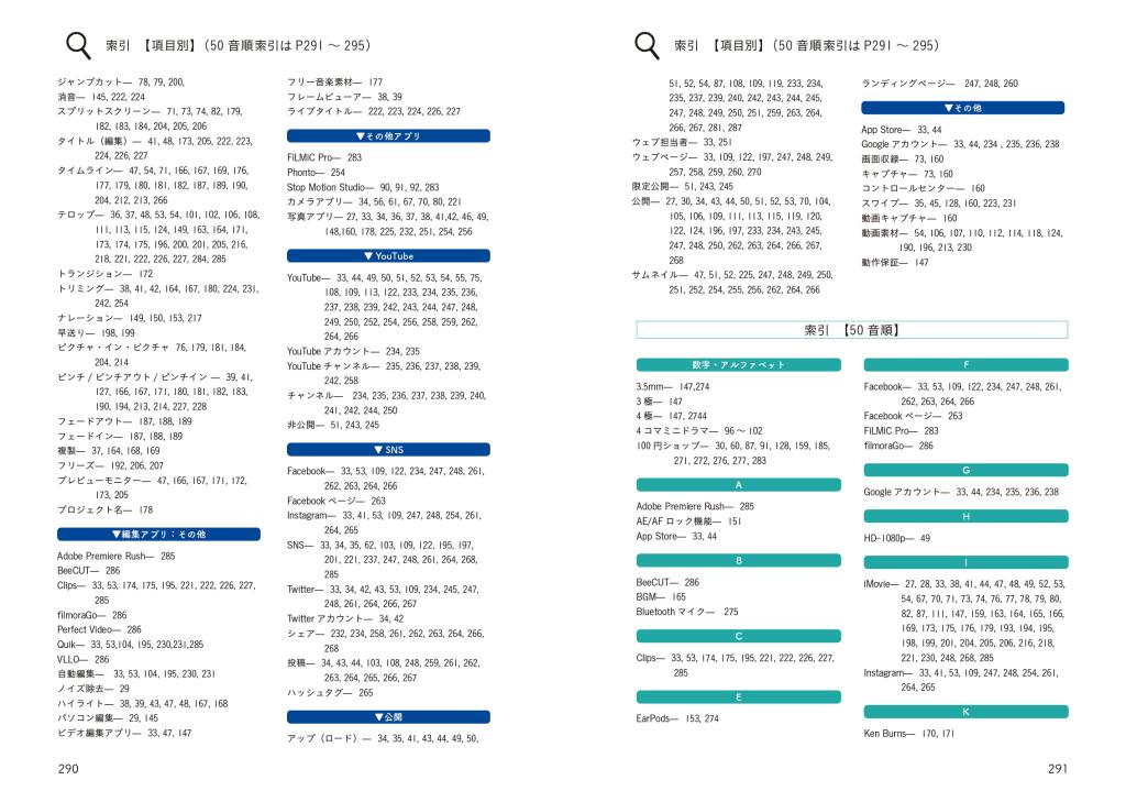 iPhoneで作ろうビジネス動画の教科書sakuin